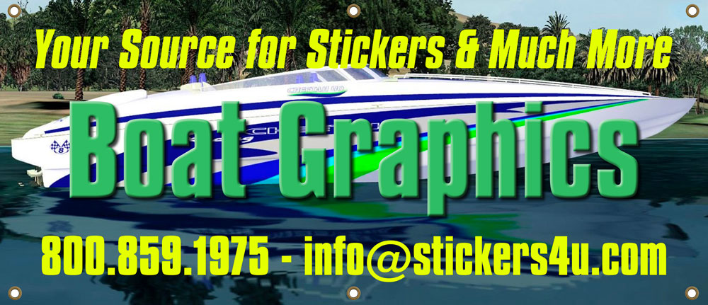 boat graphics, boat decals, flame graphics, boat registration numbers, installing,vinyl boat graphics, personal watercraft decals, custom boat graphics